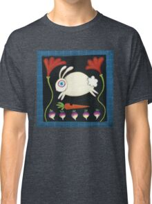 White Rabbit in the Garden Classic T-Shirt
