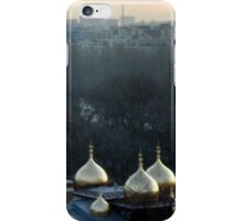 Domes in the mist iPhone Case/Skin