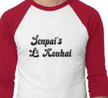 Senpai's Lil Kouhai  Men's Baseball ¾ T-Shirt