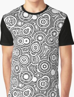 Wheels Within Wheels - on white Graphic T-Shirt
