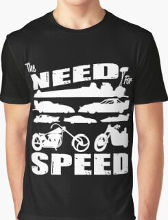 The Need for Speed Graphic T-Shirt