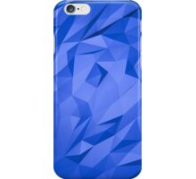Abstract Blue Triangles iPhone Case/Skin