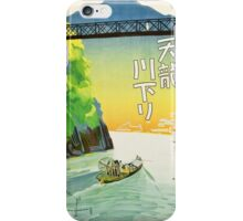 Japanese Travel Poster - Pre WWII iPhone Case/Skin