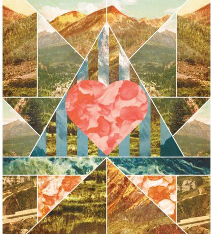 Heart Travel Sticker