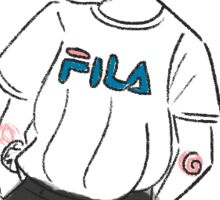 Fila Matty Sticker