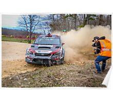Subaru Rally Poster