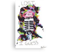Lost, I Guess  Canvas Print