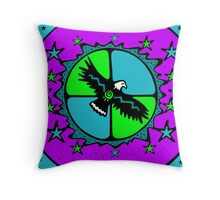 The Breath of the Great Spirit Throw Pillow