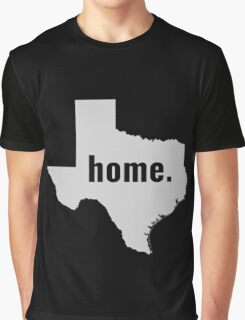 Texas Home State Pride Graphic T-Shirt
