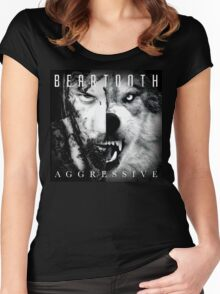 Beartooth Aggressive Cover Women's Fitted Scoop T-Shirt