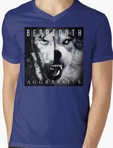Beartooth Aggressive Cover Mens V-Neck T-Shirt