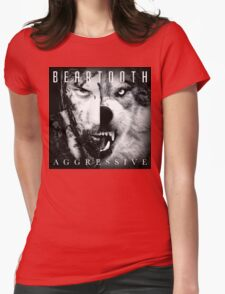 Beartooth Aggressive Cover Womens Fitted T-Shirt