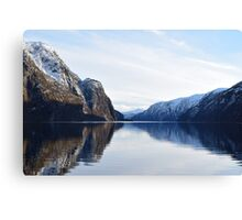 Arcitc Fjords Canvas Print