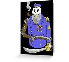 Captain Woody Bi.Sailors Greeting Card