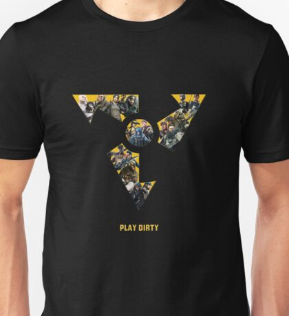 Dirty Bomb Mercs Unisex T-Shirt