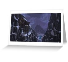Northrend (WoW) Greeting Card