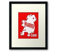 Cork... Whatever... Framed Print