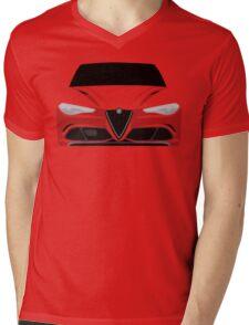 Alfa Romeo Giulia Mens V-Neck T-Shirt