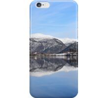 Water quiet as a mirror iPhone Case/Skin