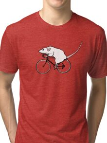 Cycling Rat Tri-blend T-Shirt