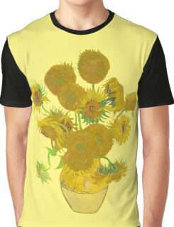 Sunflowers by Vincent van Gogh Graphic T-Shirt