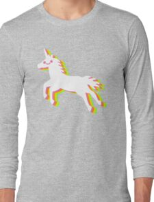 Rainbow Unicorn Long Sleeve T-Shirt