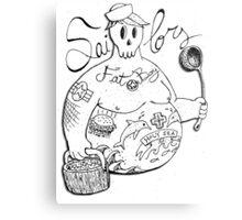 Fat Boy Bi.Sailors Metal Print