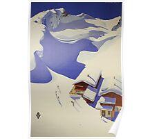 Austrian Ski Poster Poster