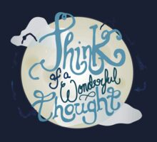 Think of a Wonderful Thought One Piece - Short Sleeve