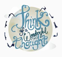 Think of a Wonderful Thought Baby Tee