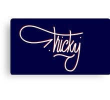 Tricky Red Canvas Print
