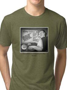 "Citizen Kane Finds ""Rosebud"" (Film Geek Humor) Tri-blend T-Shirt"