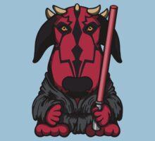 Dark Side Bull Terrier Baby Tee