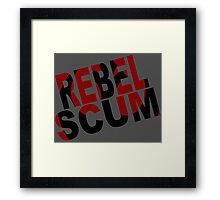 Rebel Framed Print