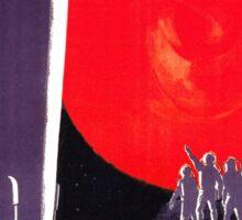 Soviet Rocket Movie Sticker