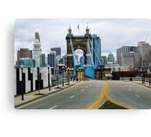 Cincinnati Skyline Canvas Print