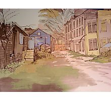 Old Millhouse Yard Photographic Print