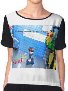 Lego Better Call Saul Chiffon Top
