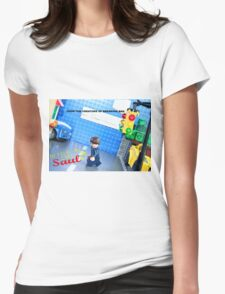 Lego Better Call Saul Womens Fitted T-Shirt