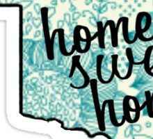 Home Sweet Homa  Sticker
