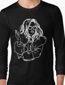 We're Finally Alive! - Darlene Alderson - Mr. Robot Long Sleeve T-Shirt