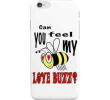 Love Buzz iPhone Case/Skin