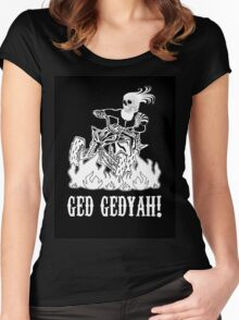 GED GEDYAH Women's Fitted Scoop T-Shirt
