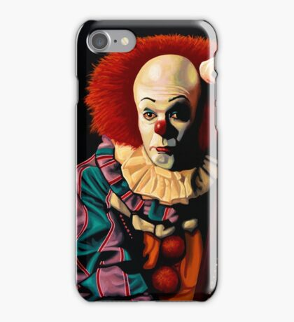 Pennywise painting iPhone Case/Skin