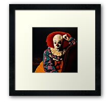 Pennywise painting Framed Print