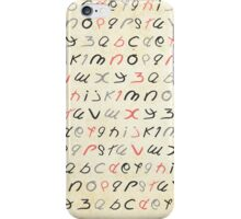 ABC iPhone Case/Skin