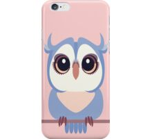 BABY BLUE OWLET iPhone Case/Skin