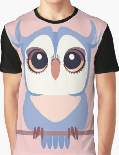BABY BLUE OWLET Graphic T-Shirt