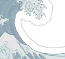 Pastel Great wave off kanagawa Sticker