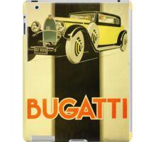 Art Deco Poster - Bugatti iPad Case/Skin